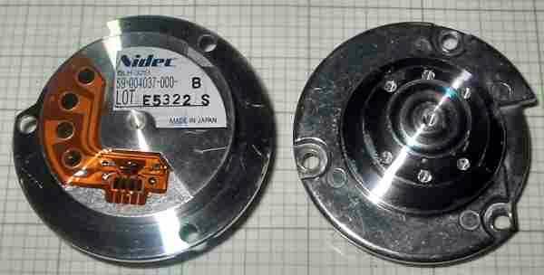 Nidec 59 004037 000 B Motor Hard Disk Brushless Nidec Hard Disk Brushless Motor