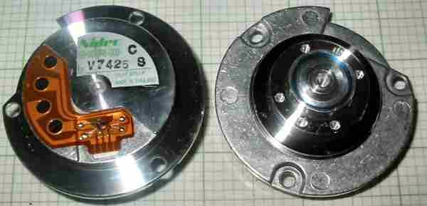 Nidec 59 004046 000 Motor Hard Disk Brushless Nidec Hard Disk Brushless Motor