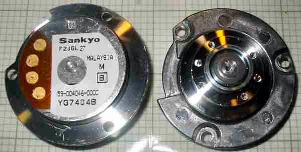 59 004046 000c 000 000b Motor Hard Drive Brushless Sankyo Nidec Hard Disk Brushless Spindle Motor
